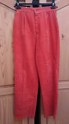 Corduroy vintage high waist trousers UK12 -UK14