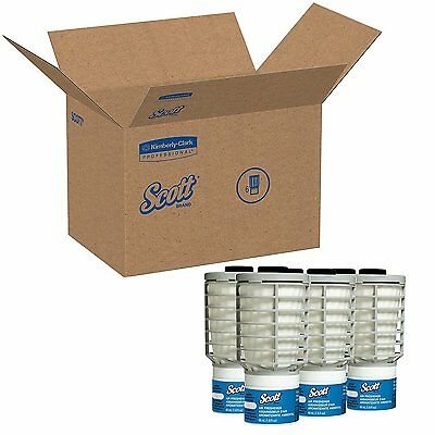 Scott 91072 Continuous Air Freshener Refill, Ocean, 48mL Cartridge Case of 6