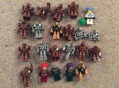 lego Exoforce Minifigures, (some incomplete)