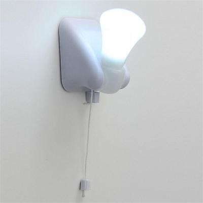 LED  Lamp Night Switch Self Wire Cabinet Lamp Wall Lamp Bulb AAA Battery