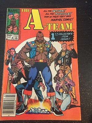 A-team#1 Awesome Condition 7.0 (1984)Severin Art!!