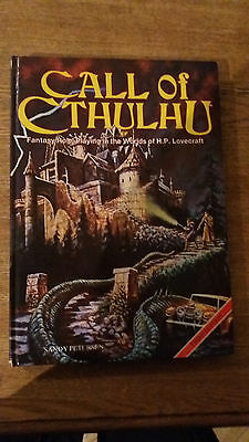 Call of Cthulhu, 3rd Edition RPG. Book