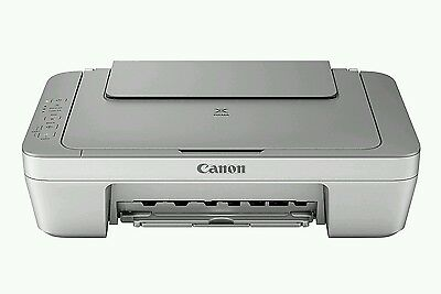 Canon PIXMA MG2450 All-in-One Inkjet Printer. No inks supplied.