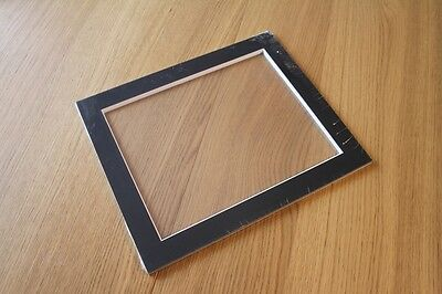 pack of 5 Mounts to fit 12x10 frames, mounting 10x8 picture. Black