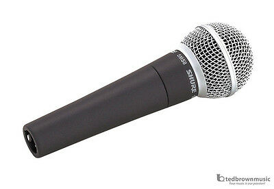 Shure SM58-LC Dynamic Handheld Vocal Microphone