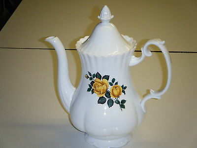Very Pretty   6 Cup  Porcelain Coffee Pot.