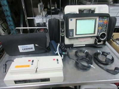 ***SALE***Lifepak 12 Biphasic 3 lead  Nibp, Etco2  Pacing AED Analyze