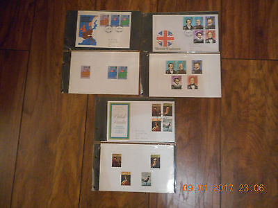Royal Mail First Day of Issue Covers 1973