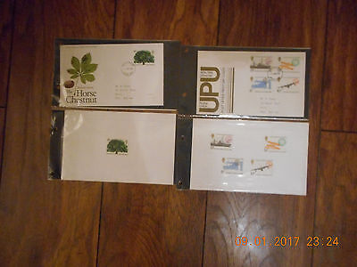 Royal Mail First Day of Issue Covers 1974