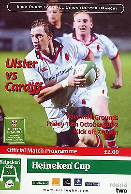 Ulster V Cardiff 18/10/02