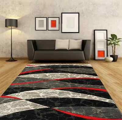 Modern Small Extra Large Red Silver Grey Black Carved Rugs Cheap Long Runner