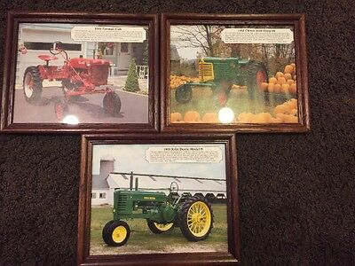 Collectible Ozzie Sweet Tractor Photos (3)