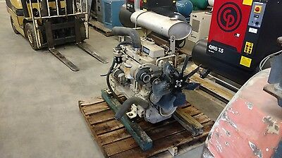 Used John Deere Engine Diesel 4045 Complete -- Runs Good