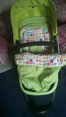 Mothercare my3 my choice buggy/pram suitable for maxi cosi