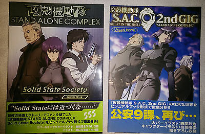 Mook: Ghost In the Shell S.A.C. 2 Visual Books SSC et 2ng GIG VO Hobby Japan
