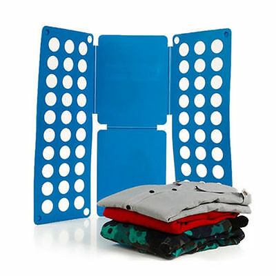 Adults Easy Magic Clothes Folder T Shirt Jumpers Organiser Fold Suitcase Laundry