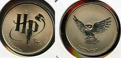 Rare Harry Potter Canada Rcm Reel Coinz Token Featuring Hedwig