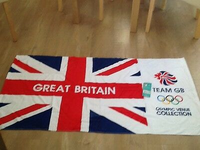 team GB towel 2012. Olympic Venue Collection NEW with tag
