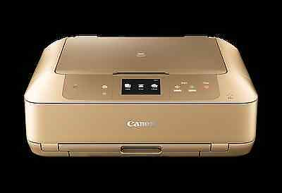 Canon PIXMA GOLD MG7766 A4 Colour Photo Inkjet All-In One Printer Copy Scan Wifi
