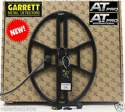 "New NEL THUNDER 14.5""x10.5"" DD search coil for Garrett AT PRO + cover + fix bolt"