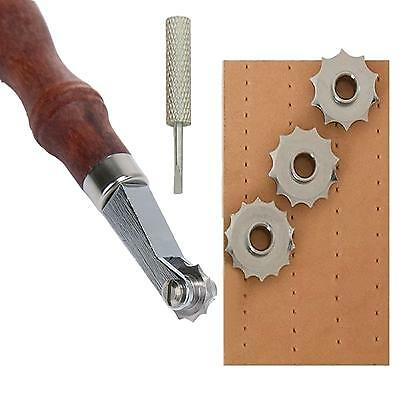 Leather Craft Punch Tools Kit Leathercraft Spacer Embossing System Working Set