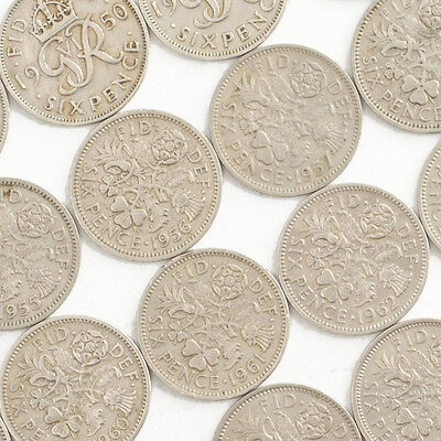 British Sixpence Coins - Six Pence 6d - Choose Your Year - Great Birthday Gift