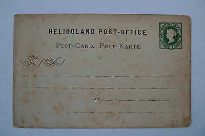 Heligoland 5 Pfenning Stationery Mint Stained