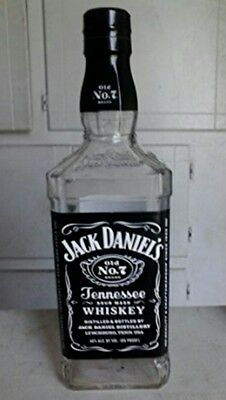 empty jack daniels jd whisky bottle upcycled upcycling breweriana