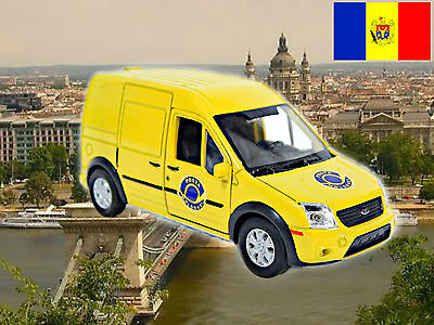 MOLDAVIA POSTA post mail Ford Transit approximate scale 1/43 - World Post cars