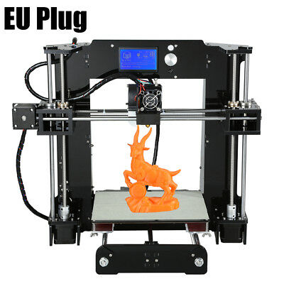 Anet A6 3D Desktop Printer Kit LCD Precision off-line printing + Acrylic Frame