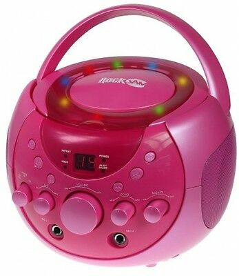 RockJam Karaoke Party Pack with 2 CD+G's Discs - Pretty Pink