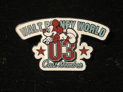 Disney WDW Cast Member 2003 Exclusive Mickey Mouse pin LE 3000