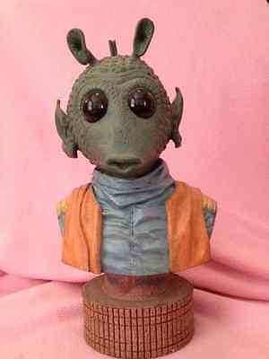 Ultra Rare Star Wars Greedo 3D Bust-mint- New in Box
