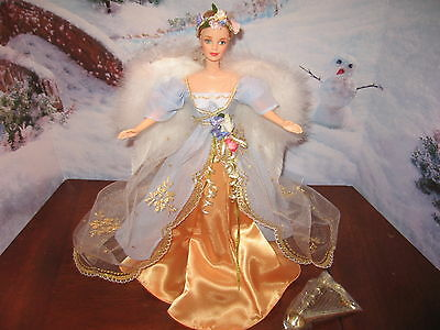 """ANGELS of MUSIC COLLECTION """"HARPIST ANGEL"""" BARBIE COLLECTOR EDITION FIRST SERIES"""