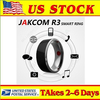US Jakcom R3 Smart Ring Wearable Bracele NFC Magic For Iphone IOS Android