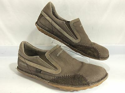 Patagonia Men's  Brown Canvas/Leather Slip on Shoes Size 9