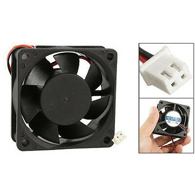 H399 60mm x 25mm PC CPU Cooling Fan 24V 2 Pin Case Cooler 0.15A 6025