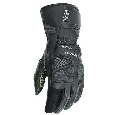 Dririder Apex 2 road motorcycle gloves black size L large