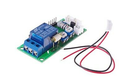 SMAKN® Vibration sensor switch / Relay switch, adjustable sensitivity and delay