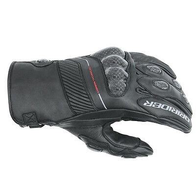 Dririder Speed 2 SC short-cuff motorcycle race gloves black size L large