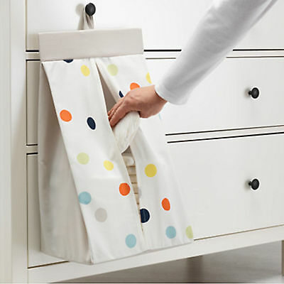 NEW IKEA Change Table Caddy Baby Nappy Organiser Holder Stacker Bag Storage