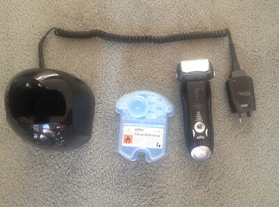 Used Braun series 7 with clean and renew