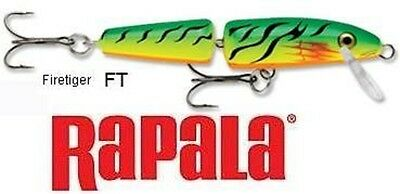 ORIGINAL RAPALA J5 jointed trout bass lure pike Coarse Saltwater fishing NEW
