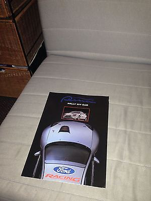 Ford Puma rally kit car brochure ford racing motorsport special edition Boreham