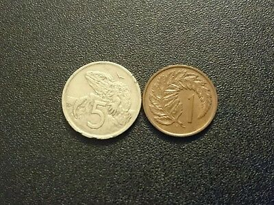 Lot 50. Two New Zealand Coins