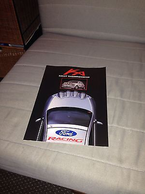 KA rally championship brochure ford racing motorsport special edition Boreham