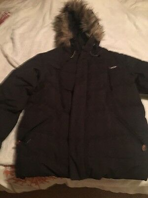 Black Men's Ski Jacket size large