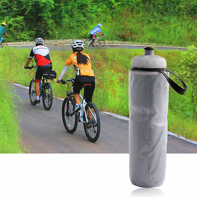 Portable Outdoor Insulated Bicycle Bike Cycling Sport Water Bottle 710ml XC