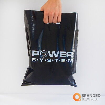 Custom Printed Retail Carrier Bags PERSONALISED WITH YOUR LOGO & MESSAGE