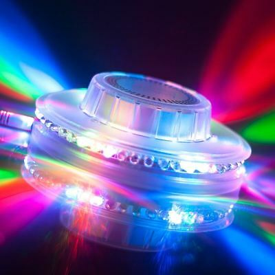 Disco 360 Ice Light Show Music and Sound Responsive Flashing Party LED Light